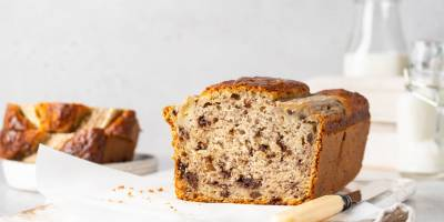 Banana bread: the softest banana and chocolate chip plumcake of all