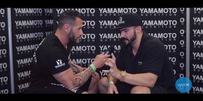 Interview with Marco Achille Gandolfi Vannini Men's Physique with Emanuele Zanetti