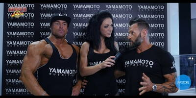 Interview with Emanuele Zanetti and Enrico Frisinghelli at Arnold Classic Europe 2016