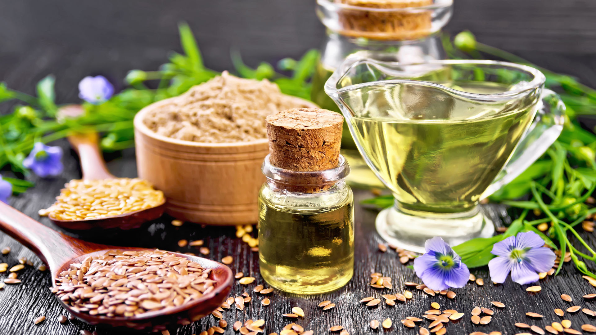 Linseed oil: an elixir of well-being